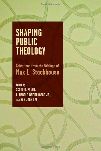 9780802868817: Shaping Public Theology: Selections from the Writings of Max L. Stackhouse