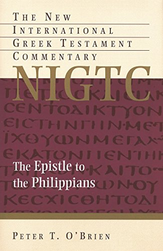 9780802872135: The Epistle to the Philippians (The New International Greek Testament Commentary)