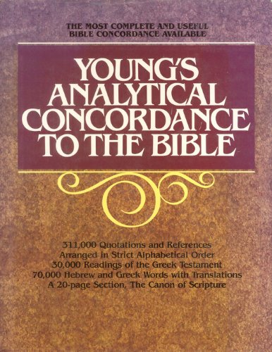 9780802880840: Young's Analytical Concordance to the Bible: The Canon of Scripture