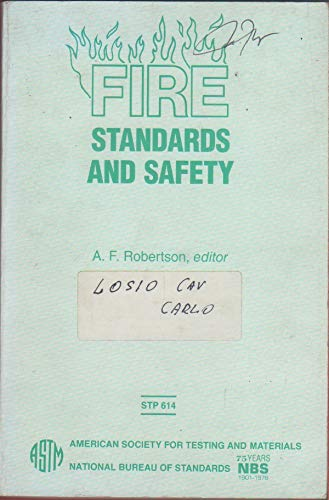 9780803103528: Fire Standards and Safety