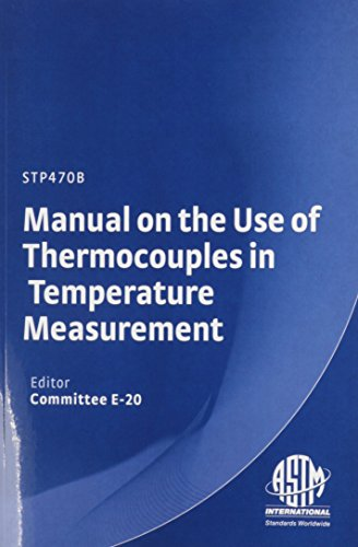 Manual on the Use of Thermocouples in