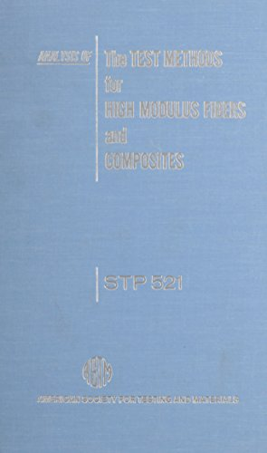 9780803107014: Analysis of the Test Methods for High Modulus Fibers and Composites/Stp 521