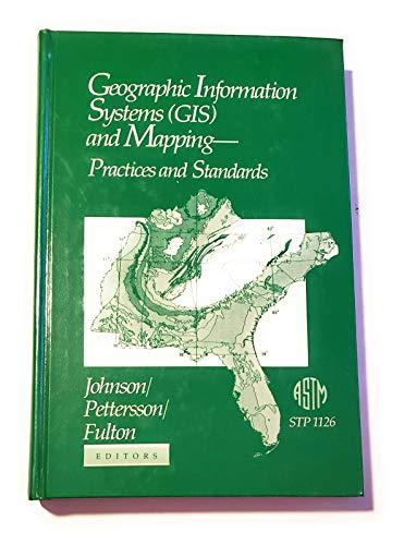 9780803114715: Geographic Information Systems (Astm Special Technical Publication// Stp)