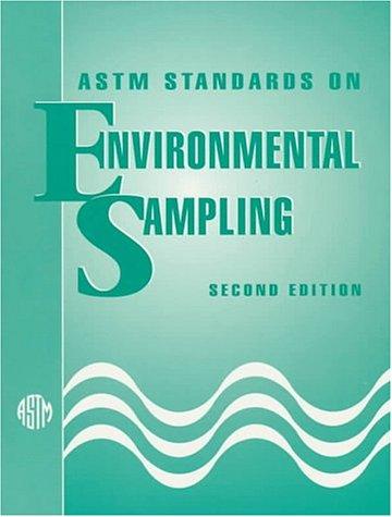9780803118355: Astm Standards on Environmental Sampling
