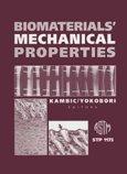 9780803118942: Biomaterials' Mechanical Properties (Astm Special Technical Publication// Stp)