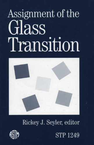 9780803119956: Assignment of the Glass Transition (Astm Special Technical Publication)