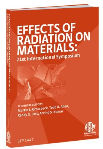 9780803134775: Effects of Radiation on Materials: 21st Symposium