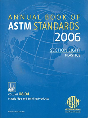 9780803141704: Volume 8 04, Plastic Pipe and Building Products