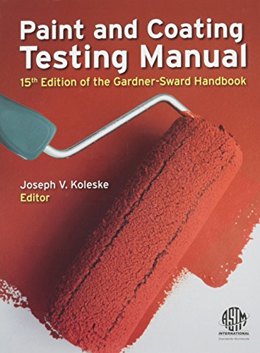 9780803170179: Paint and Coating Testing Manual: 15th Edition of the Gardner-Sward Handbook