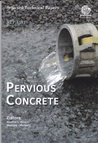 9780803175372: Pervious Concrete STP1551