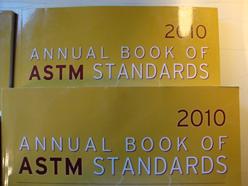 2010 Annual Book of Astm Standards Section 00 Index Subject Index; Alphanumeric List: n/a