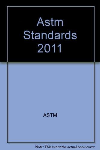 9780803184572: Astm Standards 2011