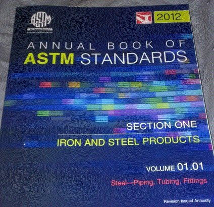9780803186958: ASTM Volume 01.01, Steel--Piping, Tubing, Fittings