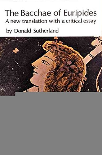 9780803201828: The Bacchae of Euripides