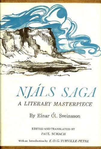 Njals Saga: A Literary Masterpiece: Sveninsson, Einar Ól.
