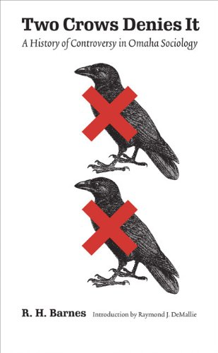 9780803211827: Two Crows Denies It: A History of Controversy in Omaha Sociology