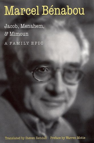 9780803212855: Jacob, Menahem and Mimoun: A Family Epic (Stages)