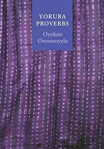 9780803218437: Yoruba Proverbs