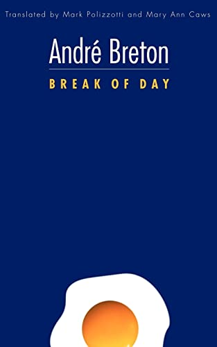 9780803220843: Break of Day (French Modernist Library)