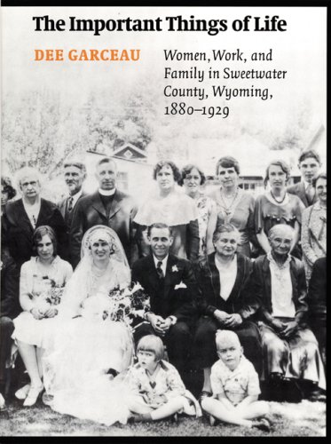 The Important Things of Life: Women, Work, and Family in Sweetwater County, Wyoming, 1880-1929 (W...