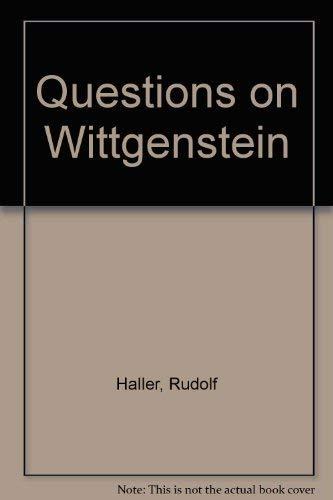 9780803223486: Questions on Wittgenstein