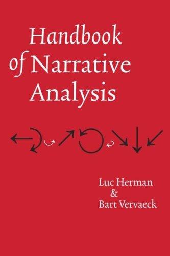 9780803224131: Handbook of Narrative Analysis (Frontiers of Narrative)