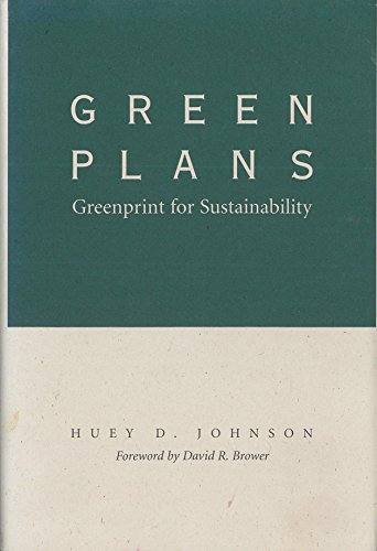 Green Plans Greenprint for Sustainability: Johnson Huey D