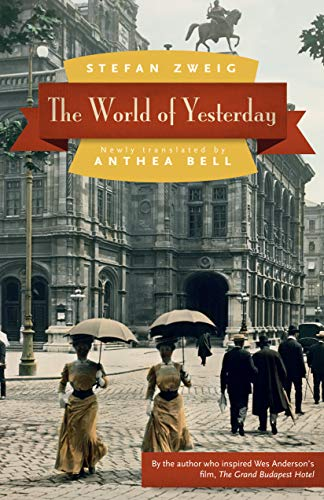 9780803226616: The World of Yesterday
