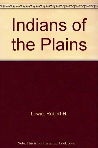 9780803228580: Indians of the Plains