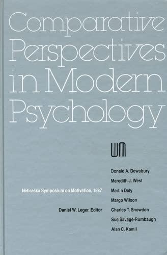 Nebraska Symposium on Motivation 1987: Volume 35 (Hardback): Nebraska Symposium