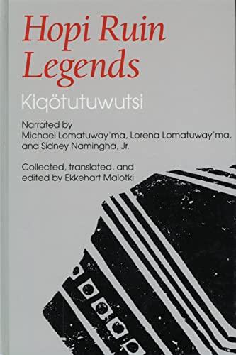 Hopi Ruin Legends: Kiqotutuwutsi: Sidney Namingha Jr.
