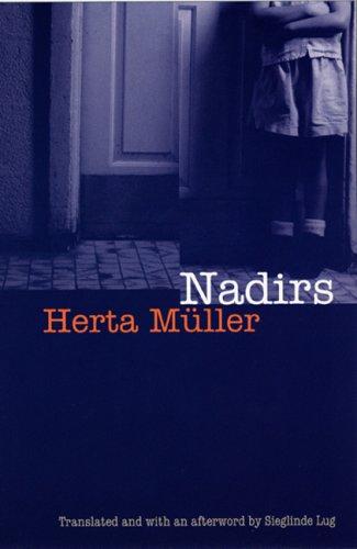 9780803231979: Nadirs (European Women Writers)