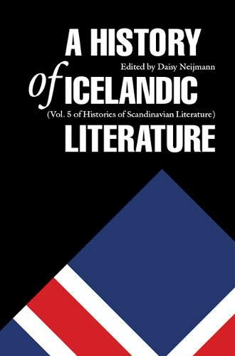 9780803233461: A History of Icelandic Literature (Histories of Scandinavian Literature)
