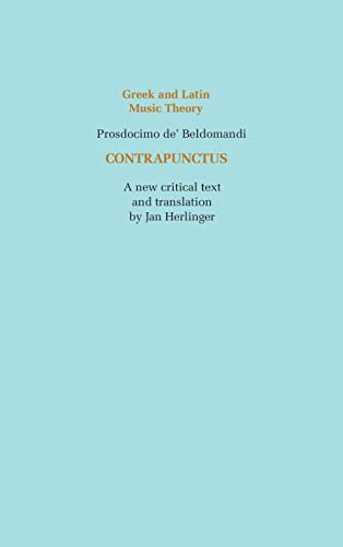 CONTRAPUNCTUS. A New Critical Text and Translation on facing pages, with an introduction, annotat...
