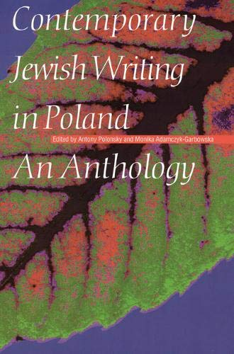 Contemporary Jewish Writing in Poland: An Anthology (Hardcover)