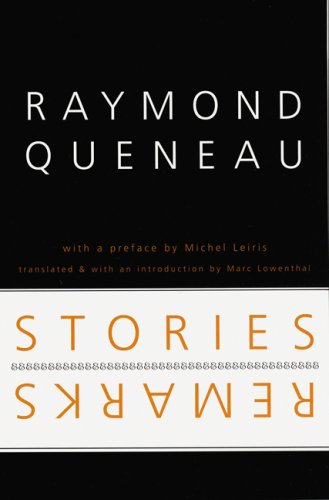 9780803238015: Stories and Remarks (French Modernist Library)