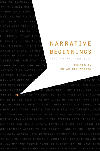 9780803239746: Narrative Beginnings: Theories and Practices (Frontiers of Narrative)