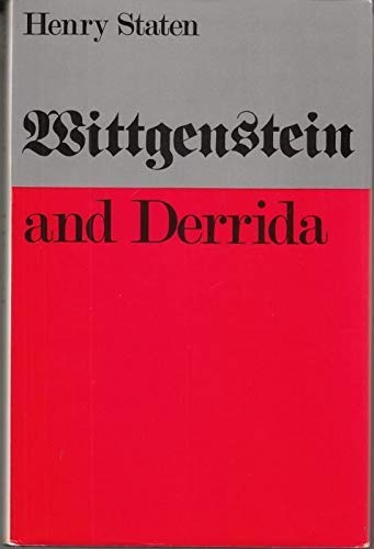 9780803241381: Wittgenstein and Derrida