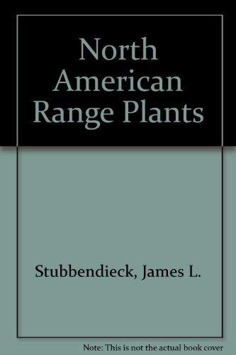 9780803241404: North American Range Plants