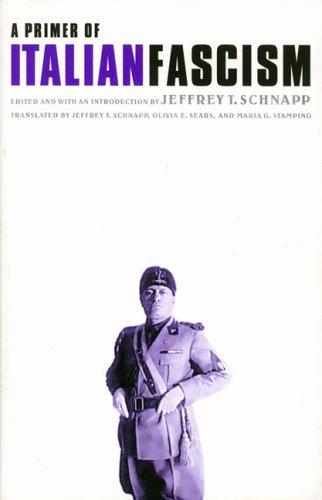 9780803242791: A Primer of Italian Fascism (European Horizons)