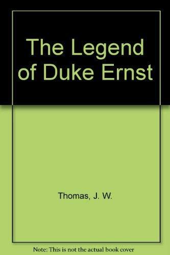 9780803244061: The Legend of Duke Ernst