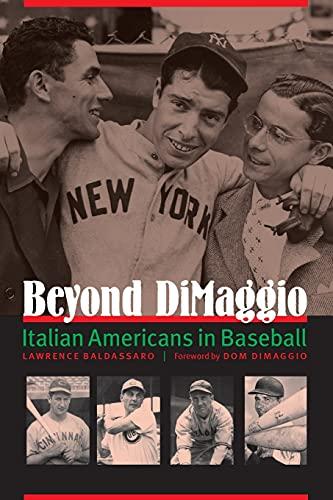 9780803246201: Beyond DiMaggio: Italian Americans in Baseball
