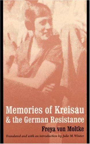 9780803246690: Memories of Kreisau and the German Resistance