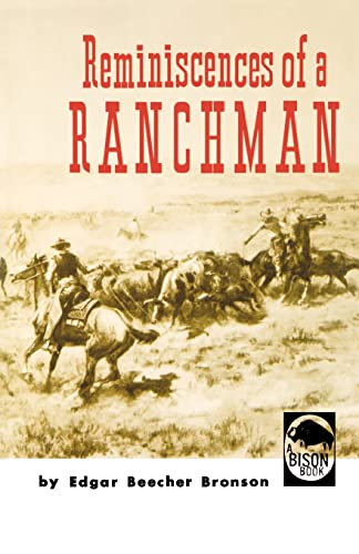 9780803250239: Reminiscences of a Ranchman