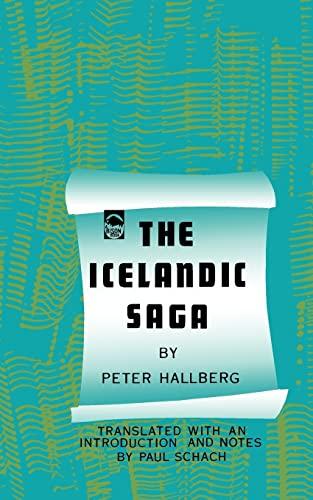 The Icelandic Saga.: Peter Hallberg.
