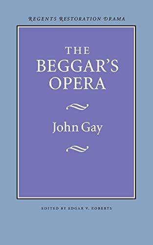 9780803253612: The Beggar's Opera (Regents Restoration Drama Series)