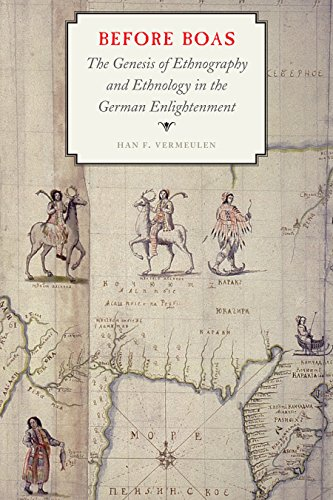 9780803255425: Before Boas: The Genesis of Ethnography and Ethnology in the German Enlightenment