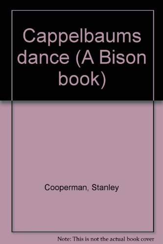 9780803257023: Cappelbaum's dance (A Bison book)