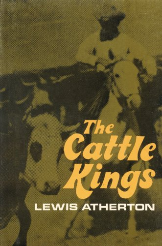 9780803257597: The Cattle Kings