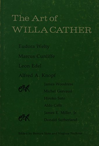9780803257948: Art of Willa Cather (Bison Book)